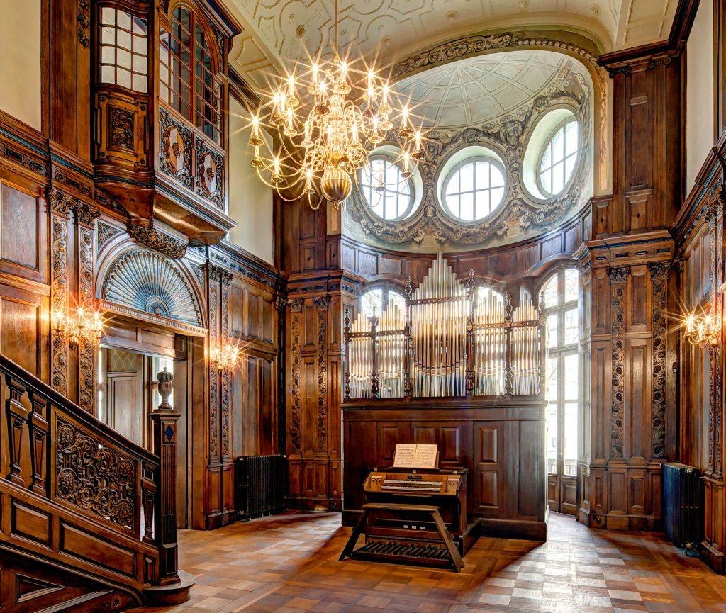 Große Halle / Empfangsraum © Manfred Zimmermann