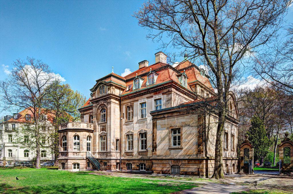 Villa Seligmann vom Garten aus gesehen © Manfred Zimmermann