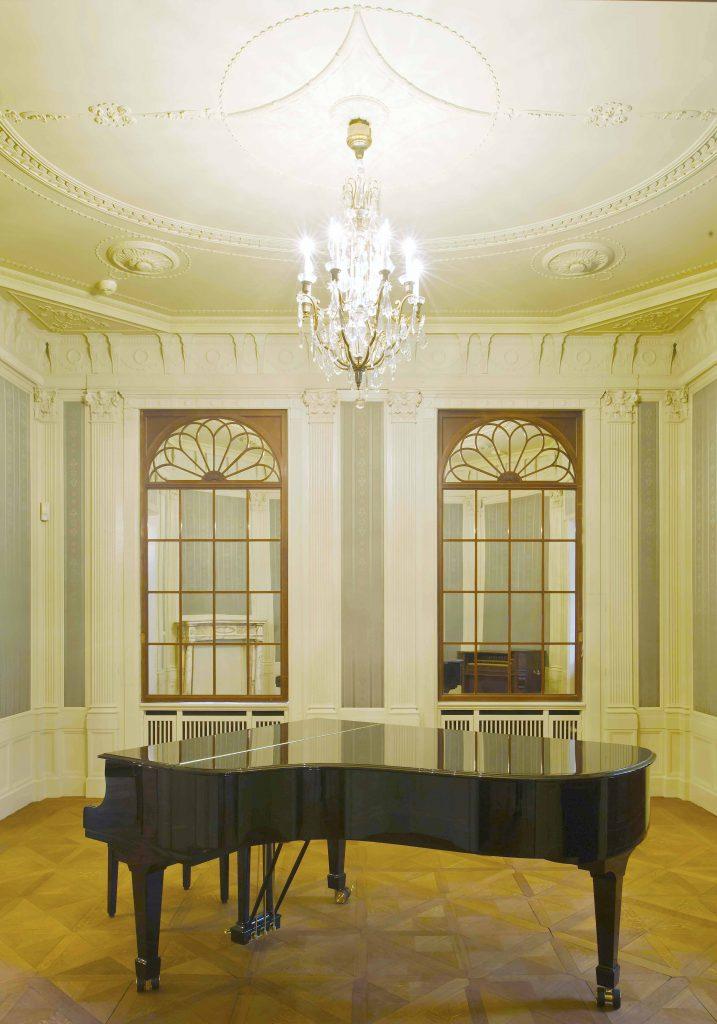 Damensalon mit Spiegelfenstern Villa Seligmann © Mahlstedt