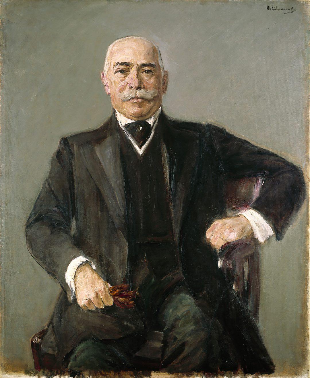 Siegmund Seligmann, gemalt von seinem Freunde Max Liebermann
