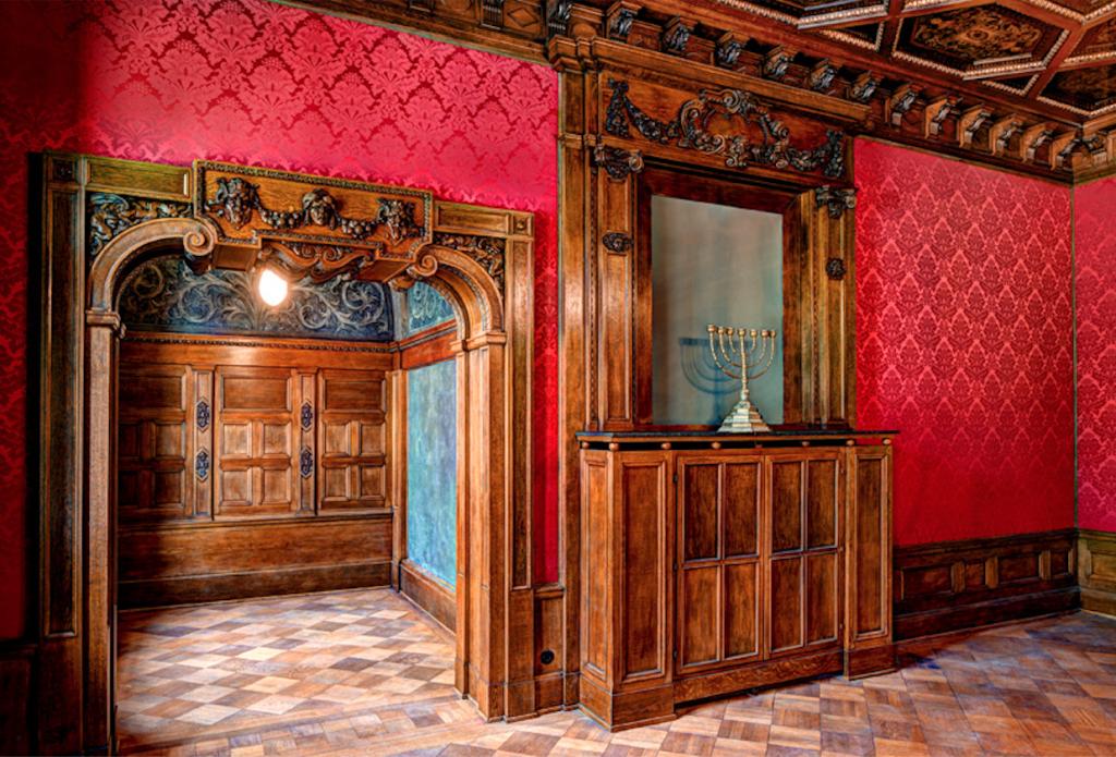 Herrenzimmer Villa Seligmann © Manfred Zimmermann